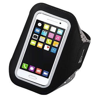 Hama Running Sports Armband älypuhelimille Koko XXL Musta