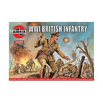 WWI Brittiläinen jalkaväki 1:76 Ilma korjaus luvut