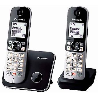 Bezdrátový telefon Panasonic Corp. KX-TG6852SPB DUO Černý