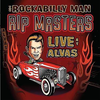 Rip Masters - The Rockabilly Man / Live På Alvas Vinyl