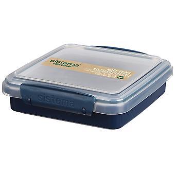 Sistema Renew Sandwich Box, Dark Blue