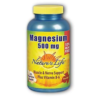 Nature's Life Magnesium, 275 Count