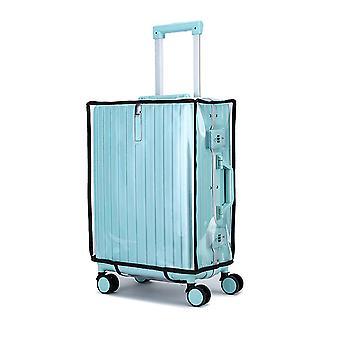 מזוודות נסיעות לכסות מזוודה עמיד למים כיסוי מגן עבה עמיד ללבוש כיסוי עמיד בפני אבק מתאים 18-18 אינץ ' מזוודות