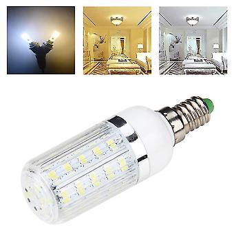E14 7w 36 Smd 5730 Silver Side Light Led Corn Bulb Bianco puro/caldo 110v/240v