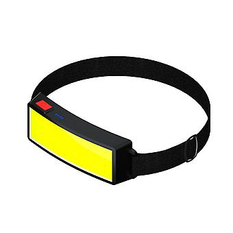 Rechargeable Cob Headlamb Led Head-mounted Strong Flashlight For Cambing