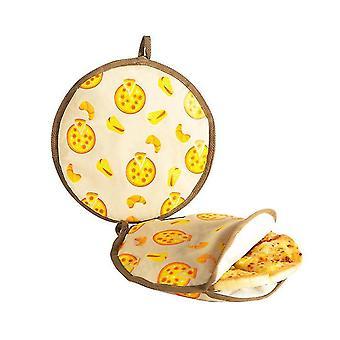 Pure Cotton Food Insulation Bag Tortilla Pancake Microwave Bag Pancake Insulation Cover