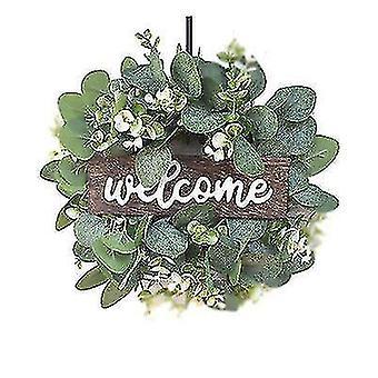 'welkom' Simulatieslinger, EucalyptusBladslinger, Feestdecoratie