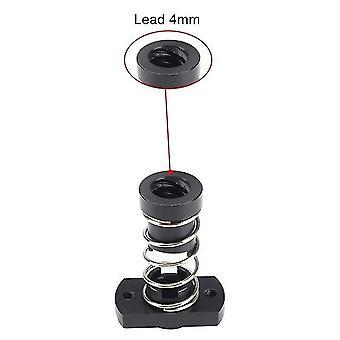 Anti backlash nuts t8 pom elimination spring loaded nut 3d printer for lead 2mm /4mm/8mm acme