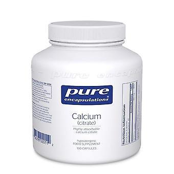 Pure Encapsulations Calcium (citrate) Capsules 180 (CC1UK)