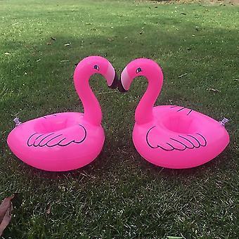 Flamingo aufblasbare Tasse Halter Wasser Spielzeug