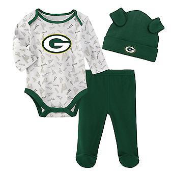 NFL Newborn Baby Set - LITTLE Green Bay Packers