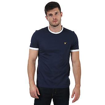 Le T-shirt Lyle and Scott Ringer en bleu
