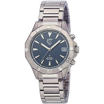 ONE (Eco Tech Time) Silver Titan EGT-11356-20M Men's Watch