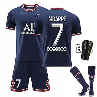 2021-2022 Säsong Manchester Fotboll T-shirts Jersey Set för barn ungdomar
