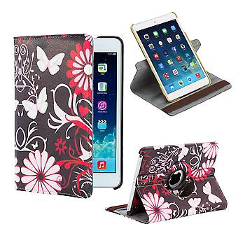 360 degree Design Book case for Apple iPad Mini 4th Gen - Gerbera