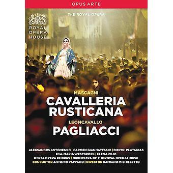 Cavalleria Rusticana & Pagliacci [DVD] USA import