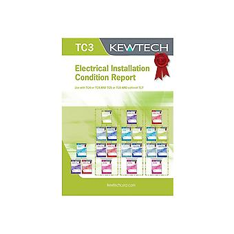 Kewtech Electrical Installation & Condition Report (Up To 100A)