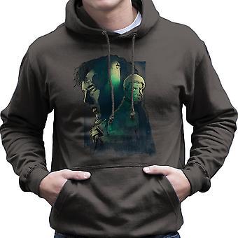 Sherlock Holmes und John Watson Herren Sweatshirt mit Kapuze