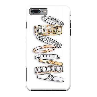ArtsCase Designer Fällen Stapel der Marke Designer Armbänder für harte iPhone 8 Plus / iPhone 7 Plus