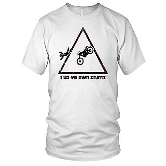 Faccio mie acrobazie Offroad Biker Mens T Shirt