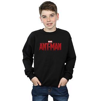 Marvel Boys Ant-Man Movie Logo Sweatshirt