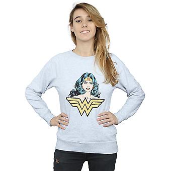 DC Comics Women's Wonder Woman Gaze Sweatshirt