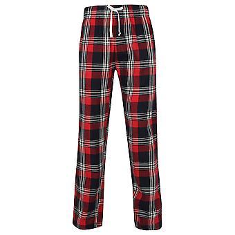 Skinnifit Mens Tartan Lounge Pants