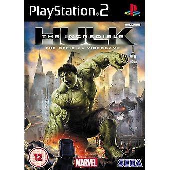 The Incredible Hulk (PS2) - Fabrik versiegelt