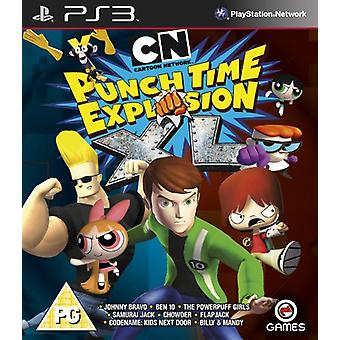 Cartoon Network Punchtime Explosion XL (PS3) - Novo