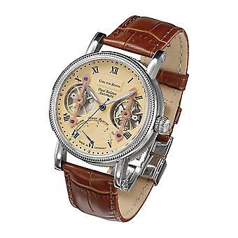 Carl of Zeyten men's watch wristwatch automatic Kinzig CVZ0024CR