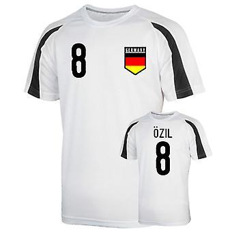 Germany Sports Training Jersey (ozil 8)