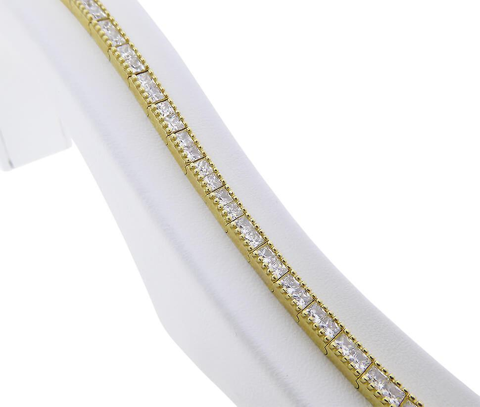 Geel gouden princess armband