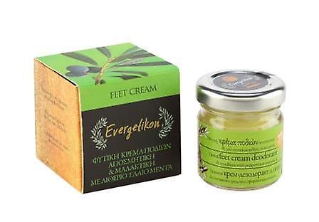 Herbal foot cream deodorant and emollient from Evergetikon 40ml.