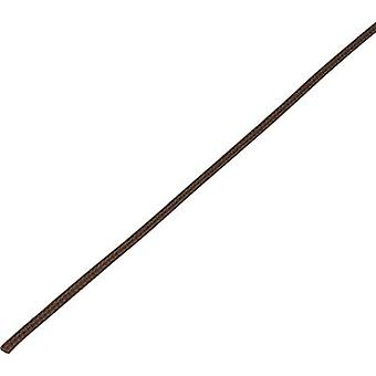 Conrad onderdelen 1243848 CBBOX0408-BN gevlochten slang Brown PET 4 tot 8 mm 10 m