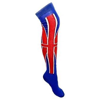 Union Jack nosić długie skarpety Union Jack