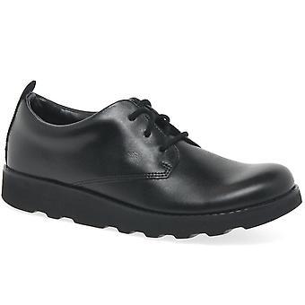 Clarks Crown London Bootleg Boys Senior School Shoes