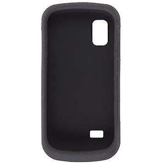 Wireless Solutions Silicon Gel Case for Samsung Solstice SGH-A887 (Black)