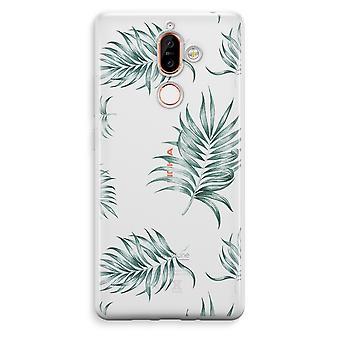 Nokia 7 Plus transparentes Gehäuse (Soft) - einfache Blätter