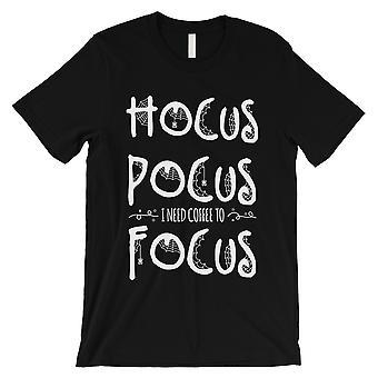 Hocus Pocus Focus męskie czarny T-Shirt