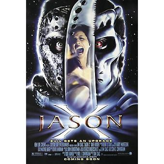 Jason X poster evil gets upgrade
