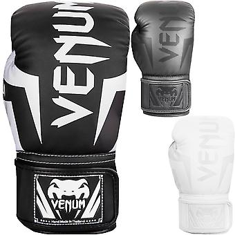 Venum Elite Hook and Loop Training Boxing Gloves