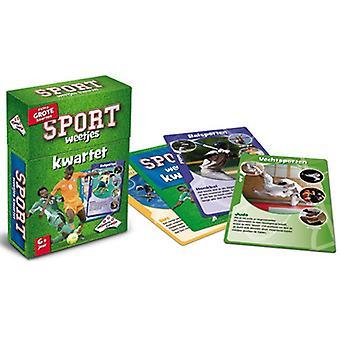 Identität-Spiele-Leckerbissen-Quartett-Sport