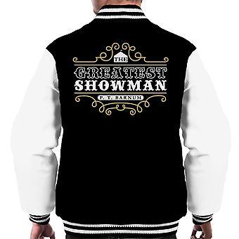 De grootste Showman PT Barnum mannen Varsity Jacket