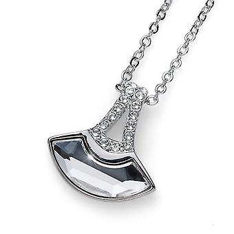 Oliver Weber Pendant Eclipse Rhodium Crystal