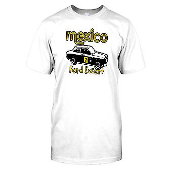 Mexico Ford Escort - oldtimer Kids T Shirt