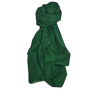 Pashtoosh Luxury Cashmere Stole Green by Pashmina & Silk