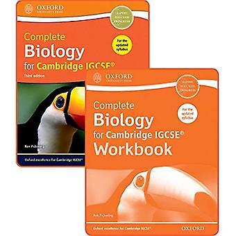Biologia completa para livro de IGCSE - estudante de Cambridge e Pack da pasta de trabalho