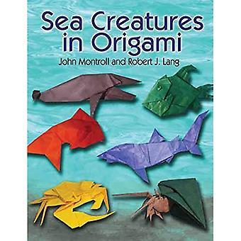 Stworzeń morskich w Origami
