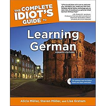 The Complete Idiot's Guide to Learning German [With CD (Audio)]