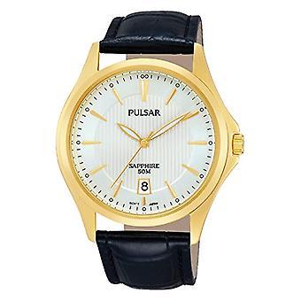 Pulsar Men's quartz montre en cuir PS9386_X 1